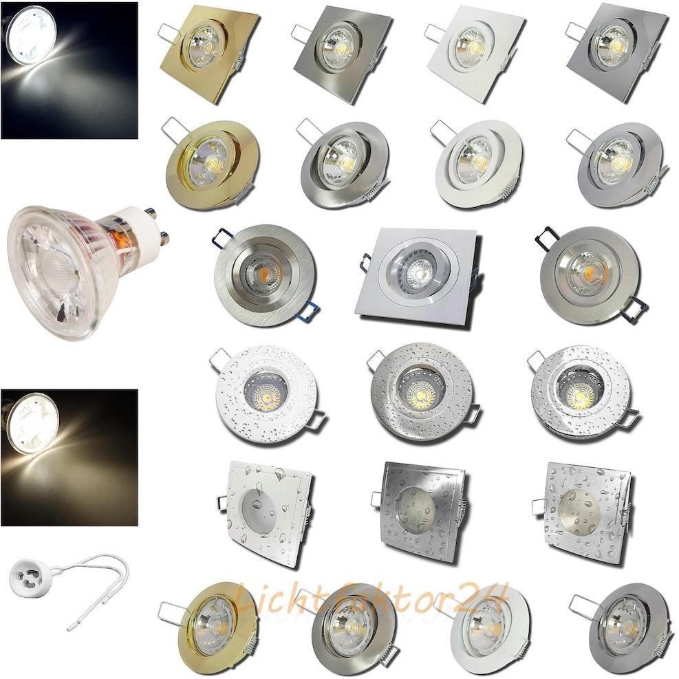 LED - Einbauleuchten - Sets