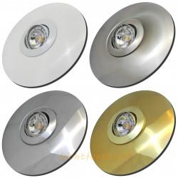 Große LED Einbaustrahler