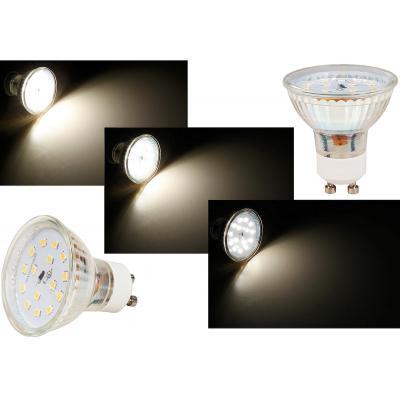 Flacher 5W LED Modul / Bad Einbaustrahler / 230Volt / IP54 / Einbautiefe 50mm