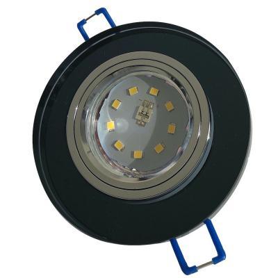 Runde Glas SMD LED Einbauleuchte Laura | 230V | STEP DIMMBAR | 5Watt