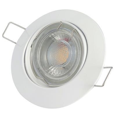 9er Sets LED-Einbaustrahler Tom | 230V | 9W | 900Lumen | Silber