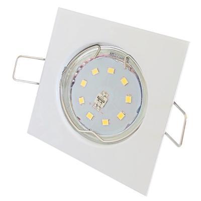 Silber / LED Badezimmer Einbauspot Marina 230Volt / 3W, 5W oder 7Watt / IP44 / Ø=83mm