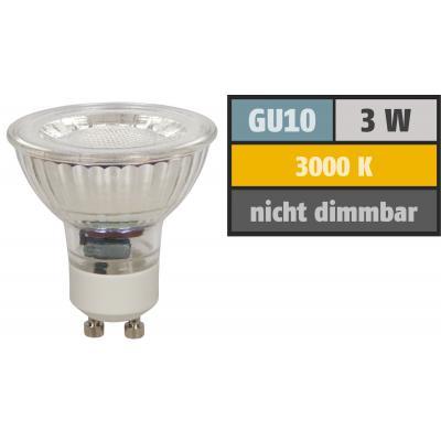 3er Set Kleine Möbel Einbauspots 12Volt / 10W / Halogen G4 / Loch = 50mm / Dimmbar / Trafo