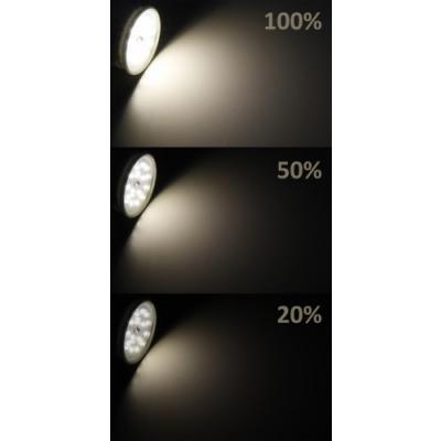 Wandeinbaustrahler Leon / 230V / 1.5W / LED / IP54 / Treppenbeleuchtung / Kaltweiss