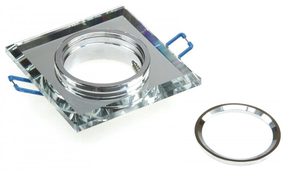 smd led glas einbaustrahler laura 230volt 3w 5w oder 7w starr klarglas lichtfaktor24. Black Bedroom Furniture Sets. Home Design Ideas