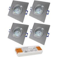 12Volt | SMD LED Bad Einbauleuchten IP44 | 5Watt | LED Trafo dabei