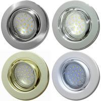 7er Set - LED Einbaustrahler Tom / 230V / 3W - 5W oder 7Watt / Silber