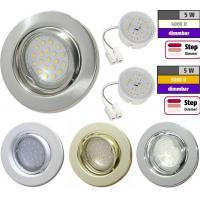 Flacher SMD LED Einbaustrahler Tomas | 230V | 5W | STEP DIMMBAR | ET=30mm