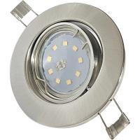 3er Set - LED Einbaustrahler Tom / 230V / 3W - 5W oder 7Watt / Silber