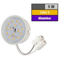 Flacher SMD LED Einbaustrahler Tomas | 230V | 5Watt | DIMMBAR | ET=30mm
