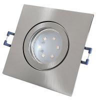 3er Set = Einbaustrahler Timo / MCOB LED Leuchtmittel 230Volt / 3W - 5W oder 7Watt / Schwenkbar