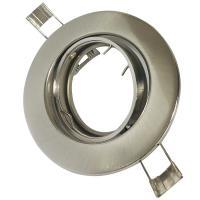 2er Set = Einbaustrahler Tomas / LED Leuchtmittel 230Volt / 3W - 5W oder 7Watt / 45° Schwenkbar / Stahl