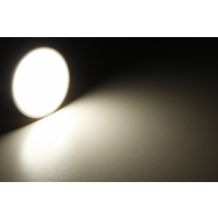 Eckiger Glas Einbaustrahler Laura | LED | 230Volt | 9Watt | Klarglas