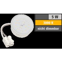 LED-Modul, 5Watt, 230Volt, 50 x 20mm, Warmweiß, 3000Kelvin, Milchglas