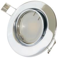 SMD LED Einbaustrahler Tomas / 230V / 9Watt / Schwenkbar / 900 Lumen