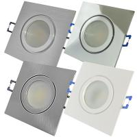 9 Watt / SMD LED Bad Einbauleuchte Marin 230Volt / IP44 / Clipring