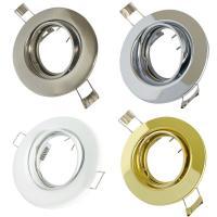 Decken Einbaufassung Tomas 230Volt / OHNE Leuchtmittel / Rostfrei / Schwenkbar
