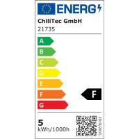 3er Set = Einbaustrahler Jan / MCOB LED Leuchtmittel 230Volt / 3W - 5W oder 7Watt / Schwenkbar