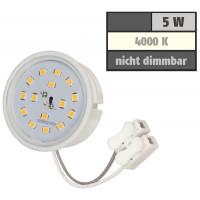 3er Set - SMD Decken Einbaustrahler Timo 12Volt mit 3W=25W Power LED + Trafo. Energieeffizienzklasse A