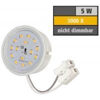 10er Set = Einbaustrahler Dario / MCOB LED Leuchtmittel 230Volt / 3W - 5W oder 7Watt / Bajonettverschluss