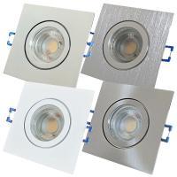Flacher 5W LED Bad Einbaustrahler Marin 230Volt / IP44 / COB Modul