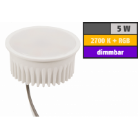 Wifi Smart LED Deckenleuchte RGB+WW, dimmbar, Amazon Alexa