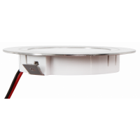 4 Stück Flache LED Möbel Einbaustrahler Mira - 12V - 2,4W - Loch 58 - 60mm