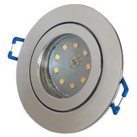 Step Dimmbar / 5W SMD LED Bad Einbauleuchte Marina 230 Volt / IP44