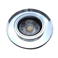 LED Einbauleuchte Flatty / 230V / 5W / DIMMBAR / Ø=80mm / Loch=75mm / ET=32mm