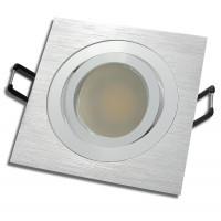 SMD LED Einbaustrahler / 230Volt / 9Watt / Aluminium / 900Lumen