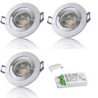 LED Einbaustrahler Marina / 230V / 5W / SMART WIFI / ET = 32mm / IP44 / RGB+CCT