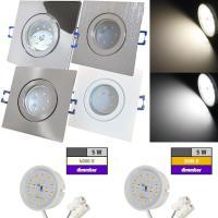 LED Einbaustrahler Marin / 230V / 5W / DIMMBAR / Loch=60 - 68mm / ET=32mm