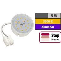 LED Einbaustrahler Marin / 230V / 5W / SMART WIFI / ET = 32mm / IP44 / RGB+CCT