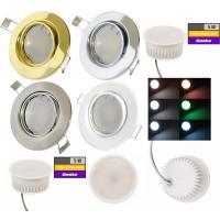 LED Modul Einbaustrahler Tomas | 230V | 5W | Smart Wifi | RGB + Warmweiss