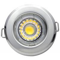 LED Einbaustrahler Tom / 230V / 7Watt / 550Lumen / Silber