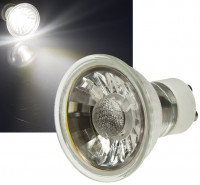 10er Set / LED Einbaustrahler Dario / DIMMBAR / 230Volt / 7W / 450Lumen / Quadratisch