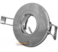 Decken Einbaustrahler Jan 230Volt, Halogenlampe Gu10, Dimmbar, Aluminium - Farbe: Edelstahl gebürstet