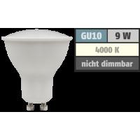 9 Watt LED Einbaustrahler Timo | 900 Lumen | 230Volt | Gu10 Fassung | IP20