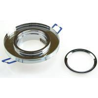 Runder Glas Einbaustrahler Laura | LED | 230V | 7Watt DIMMBAR | Klarglas