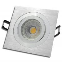 LED Einbaustrahler Tom / 230V / 3W - 5W oder 7Watt / Silber