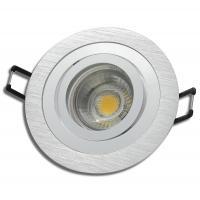 5 x Halogen Einbauspot Square 230Volt mit Hochvolt Leuchtmittel. Quadratische Ausführung. Dimmbar