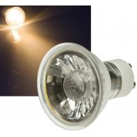SMD LED Einbaustrahler 230Volt / 3Watt / Schwarz / Schwenkbar / Quadratisch / Drehbar / EEK A+