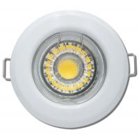 Großer LED Einbaustrahler Timo / 230Volt / 3Watt / D=185 mm / Ø = 70 bis 170 mm