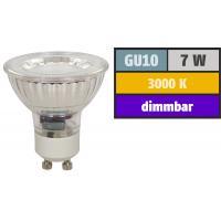 Großer LED Einbaustrahler Timo / 230Volt / 7Watt / D=185 mm / Ø = 70 bis 170 mm