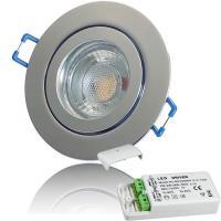 12Volt Bad Einbaustrahler Marina / IP44 / 3W / MCOB LED / Rund / inklusive LED Trafo