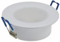 Sets = Bad Einbaustrahler Aqua44 230V und Einbauspot Timo 230Volt mit 7W=55W Power LED Leuchtmittel Gu10