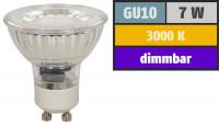 Einbauleuchte Jan / LED / DIMMBAR / 230Volt / 7W / Aluminium / Gu10 Fassung / 450 Lumen