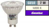 7W LED / Bad Einbaustrahler / 230Volt / Wasserdicht / IP54 / Rostfrei / Schutzklasse II / EEK A+