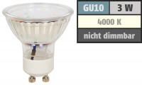 LED Wand Einbaustrahler Milan 230Volt - 1.2 Watt mit Warmlicht. Blendfreies Licht. Wegbeleuchtung