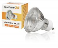 MCOB LED-Modul, 5Watt, 400 Lumen, 230Volt, 50 x 33mm, Warmweiß, 3000Kelvin